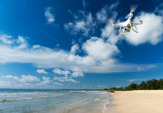 new travel technology drone